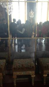 Rachel and I in the Hall of Mirrors