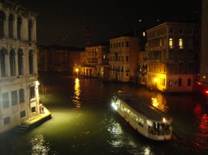 View from the Ponte di Rialto
