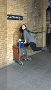 On my way to Hogwarts!
